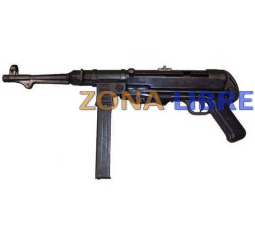 FUSIL MODELO MP40 WWII SPRING PARA AIRSOFT